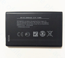 AZK 1 PCS 2000mAh New BN-02 Rechargeable Mobile Phone Battery fit for Nokia XL / XL 4G RM-1061 RM-1030 RM-1042 + free shipping