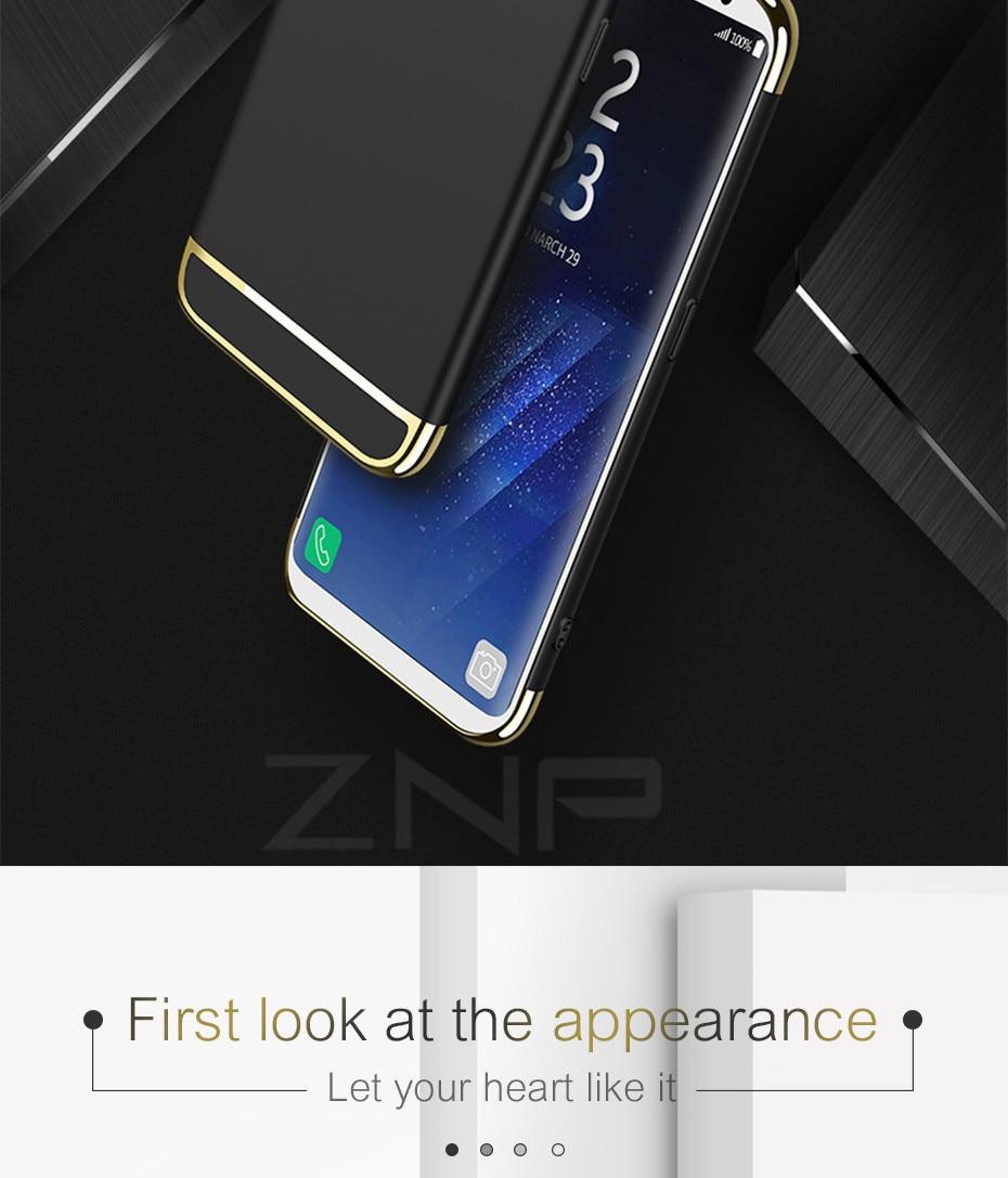 Luxury Ultra Thin Shockproof Case For Samsung Galaxy