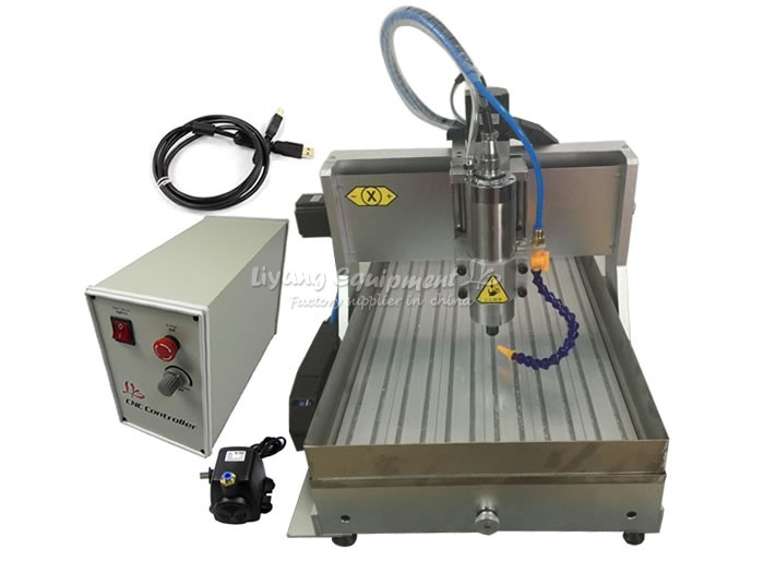CNC 6040 with water tank (12)