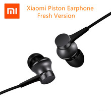 Original Xiaomi Mi Earphones Piston 3 Fresh Version In-Ear with Mic Wire Control for mobile phone