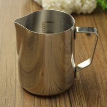 Coffee Pitcher 350ml 600ml Stainless Steel Milk Frothing Jug Espresso Barista Craft Coffee Latte Milk Frothing Jug Kitchen Home