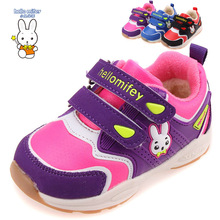 Winter 1 pair plus velvet Snow Boots Children girl/Boy shoes, child cartoon Shoes, thermal sports Fashion Kid Sneakers