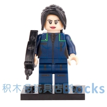 Single Sale Movie Star Trek U.S.S. Enterprise Communications officer SUPER HEROES STAR WARS minifig DIY Building Blocks Toy Gift