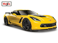 Maisto 1:24 2015 Chevrolet Corvette Z06 Diecast Model Car Toy New In Box Free Shipping