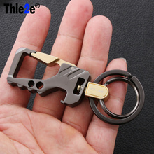 Cool Creative Design Brand Car Keychain Key Ring for Land Rover Discovery Sport Evoque Freelander 2 Vogue accessories(China)