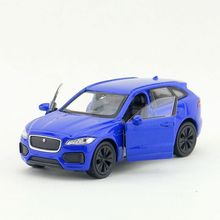 6pcs/lot Wholesale Brand New WELLY 1/36 Scale UK Jaguar F-Pace SUV Diecast Metal Pull Back Car Model Toy(China)