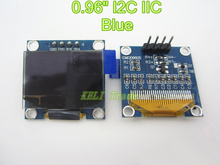 "new 1Pcs 128X64 Blue OLED LCD LED Display Module For Arduino 0.96"" I2C IIC SPI Serial new original"