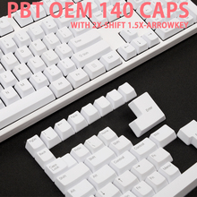 pbt top Printed PBT Keycaps oem profile Laser Etched top Printed Legends  white color for gh60 87 104 108 xd64 xd84 iso