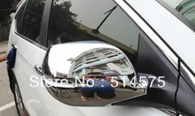 For Honda CRV CR-V 2012 2013 Chrome  Rearview mirror Side mirror cover Rear lens cap Decoration  2pcs