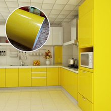 Paint Self Adhesive Vinyl Wall Stickers Kitchen Cupboard Waterproof Furniture Wardrobe Decorative Film Home Decor - Yundian Store store