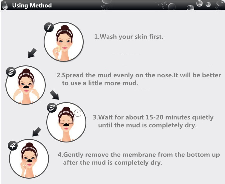 5 pcs/lot Beauty Face Care Nose Herbal Blackhead Remover Tool Mask Pore Strips Facial Skin Minerals Nose Black Head Cleaner 4