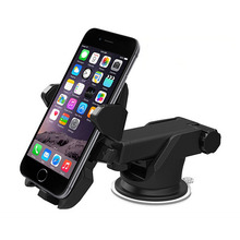 Car Phone Holder Gps Accessories Suction Cup Soporte Celular Para Auto Dashboard Windshield Mobile Cell Retractable Mount Stand