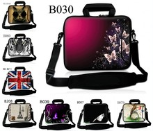 Neoprene Laptop Shoulder Bag 11.6 13.3 15.6 inch Sleeve Cover Netbook Handbag Case for MacBook Air Pro 11 12 13 15 Asus HP(China)
