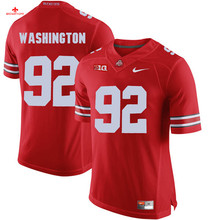 Nike 2017 Ohio State Braxton Miller 5-Scarlet Can Customized Any Name Any Logo Limited Boxing Jersey Adolphus Washington 92-gray(China)