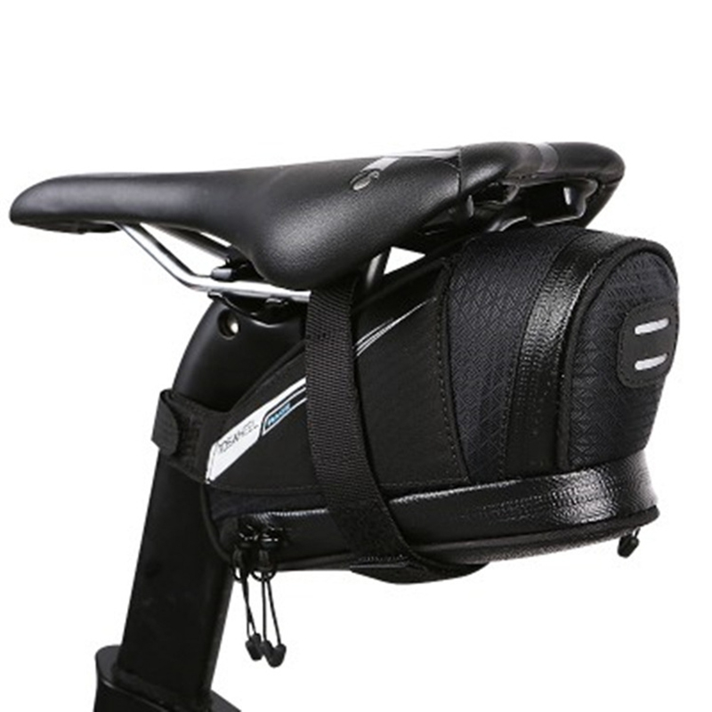 Bicycle Saddle Bag Tear Resistant Rainproof Cycling Rear Seat Bags MTB Road Bike Tail Repair Tools Pouch Bike Accessories BG0090 (5)