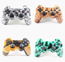 For PS3 Joystick Controller Bluetooth Gamepad For Playstation 3 Wireless Console with cool skin