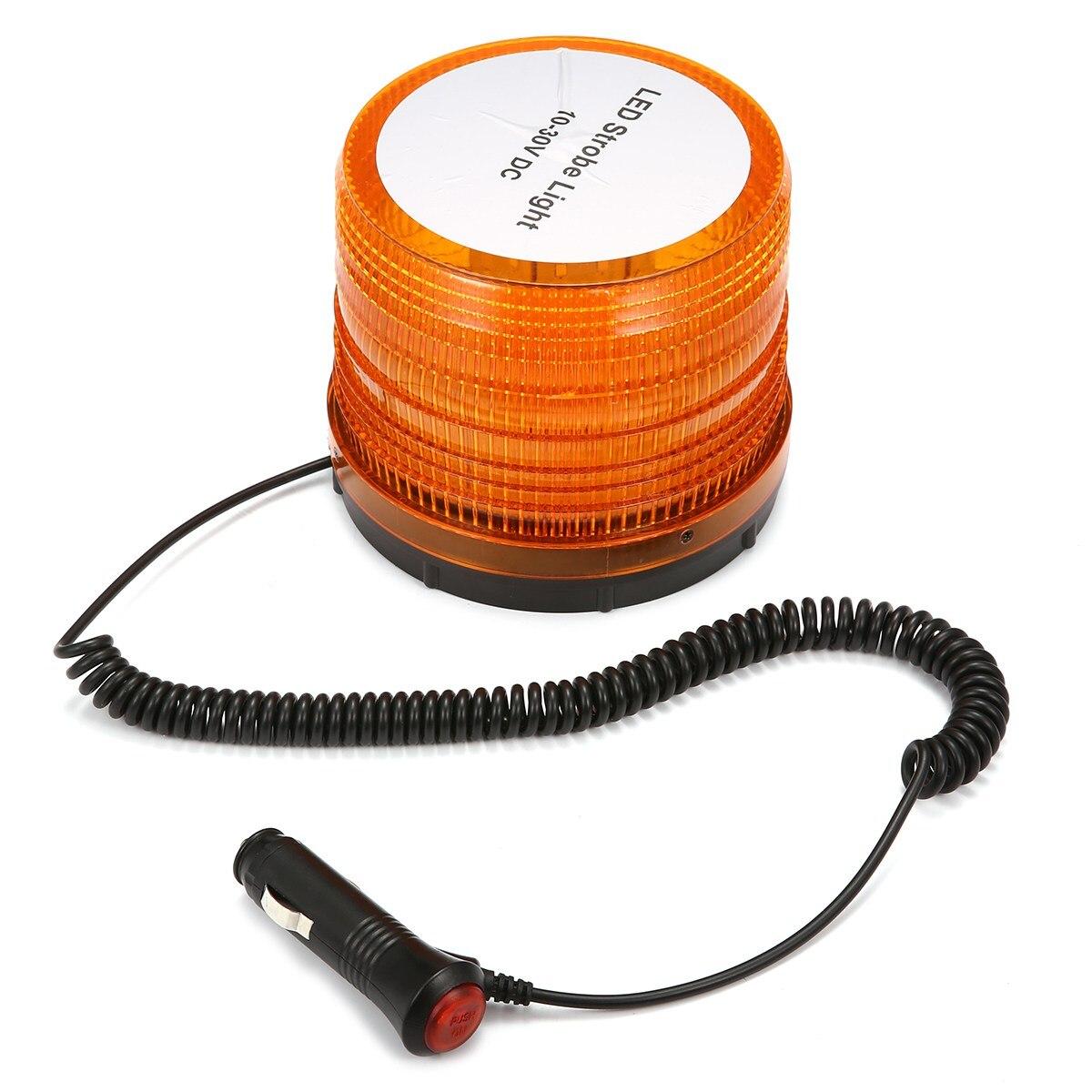 72 LED Flashing+Strobe Light LED Safety Warning Beacon Emergency Magnetic Base<br>