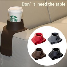 Sofa Cup Holder Beverage Can Bottle Food Table Cup Mat Home Creative Coffee Drink Placemat Vehicle Seat Gap Shelving Tableware