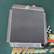 ALUMINUM ALLOY RADIATOR For CHEVY PICKUP/TRUCK C/K AT 1947-1954 Car parts engine cooling system(China)