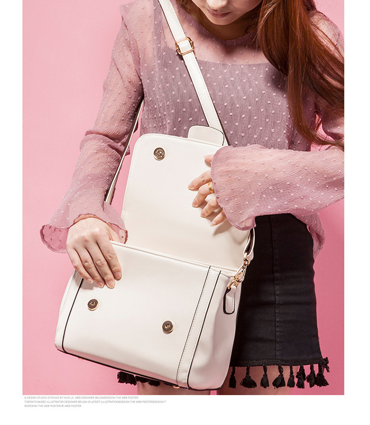 2017 New Arrival Women Handbags PU Leather Shoulder Tote Bags Crossbody Messenger Bag Fashion Ladies Bag bolsa feminina