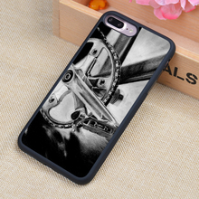 Retro Bike Printed Soft TPU Skin Cell Phone Cases For iPhone 6 6S Plus 7 7 Plus 5 5S 5C SE 4 4S Back Cover Shell