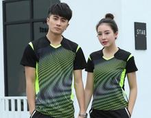 New badminton sport t-shirts,men Tennis Jersey,polyester quick-drying Badminton sport Sweatshirt, women men table tennis shirt