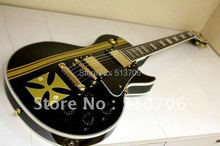 Metallica James Hetfield Iron Cross Classic Electric Guitar High Quality Free Shipping