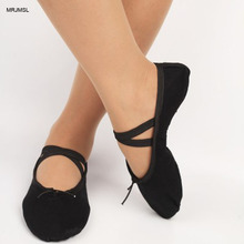 MRJMSL please buy as CM only 23~45 Indoor Cloth head girls soft sole dancing shoes for women's ballet dance shoes jay