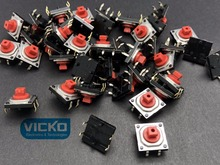 [VK] ORIGINAL ALPS Japan imported SKQEACA010 light touch button switch 12*12*7.3mm dust 10 million times life(China)
