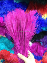 Free shipping Fushica dyed peacock feather 100pcs/lot length 25- 30 cm 10-12 inch peacock feathers wedding decorations wholesale