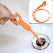 Plastic Sink Drain Dredge Pipeline Hook Hair Cleaning Tool Kitchen Cleaning Supplies Hot Sale