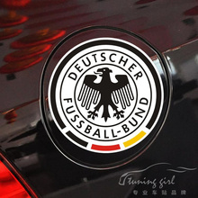 Car Stickers Germany Deutschland Deutscher Fussball-Bund Football Emblem Logo Creative Waterproof AutoTuning Styling 11x11cm D15