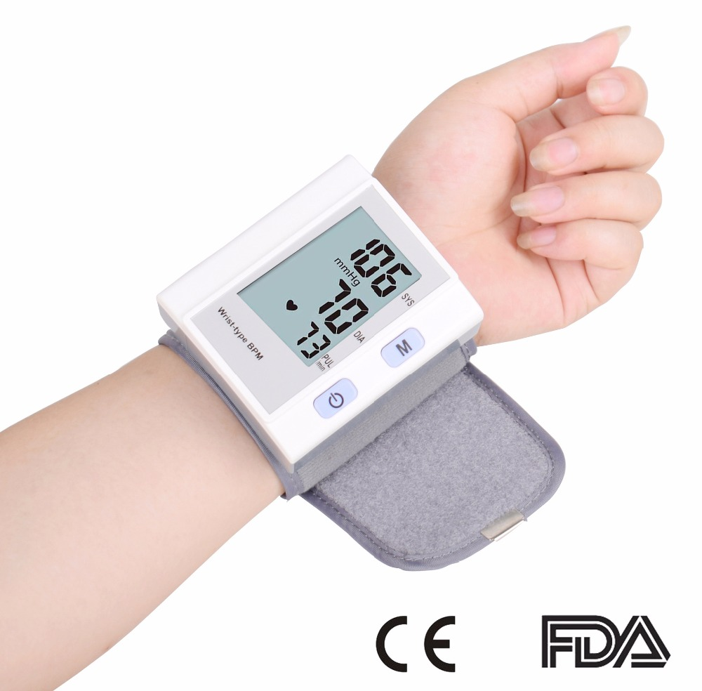 electronic sphygmomanometer wrist wrist electronic blood pressure meter household<br>