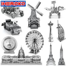 Metal Millennium Jubilee Ship Aircraft Simulation Model 3D Metallic Puzzle Educational Toys DIY Assembling Toy Birthday Gift