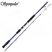 Spinpoler BX180 Boat Pole 1.5m 1.8m 2.1m 2.4m Saltwater Heavy Jigging Rod Conventional Boat Fishing Rod Sea Fishing Spinning Rod