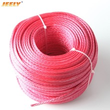Free Shipping 4mm 12 weaves UHMWPE 200M towing winch line boat tow ropes