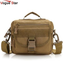 Vogue Star Military Men Messenger Bag Small Crossbody Shoulder Bag Equipment LA21(China)