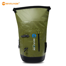 MARJAQE 28L Outdoor PVC Waterproof Dry Sack Storage Bag Rafting Sports Kayaking Canoeing Swimming Bag Travel Kits 4 Colors