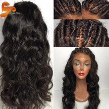 8A Best Silk Top Full Lace Wigs Brazilian Virgin Hair Body Wave Glueless Silk Top Lace Front Wigs 100% Human Hair Silk Base Wig