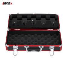 Aroma APB-3 Effect Pedal Carry Case Box Guitar Effects Total Metal Locking Case Top Quality Guitar Parts & Accessories