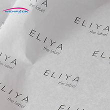 custom tissue paper/print logo on gift packing paper/Luxury tissue paper/free design(China)