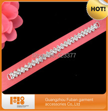 free shipping high quality hot selling 50pcs Rhinestone Bikini Connectors/ Buckle For Swimming Wear Bikini Decoration