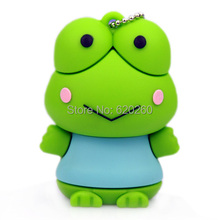 The Frog Prince usb flash drive gifts Frog animal pen drive 64gb 8gb 16gb 32gb frog pen drives flash usb pendrive memory stick(China)