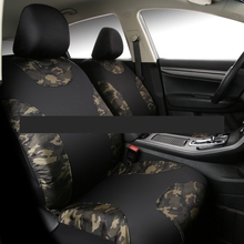 New Auto Car Seat Front Covers Waterproof cloth Automotive Universal Seat Protector for Fiat Peugeot 208 Skoda Octavia Ford(China)