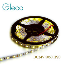 DC 24V 5050 LED Strip 5M/Roll 300LEDs,IP20 Non-Waterproof LED strip 5050,white,warm white,red,blue,green,yellow,Free shipping