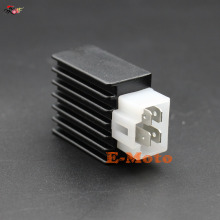12V Voltage Regulator Rectifier GY6 QMB139 4pin 50cc-150cc Scooter Moped ATV Dirt Bike Go Kart 4 Pin