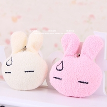 40piece/lot H-9cm good quality lovely mini plush rabbit toy,mini plush bunny toys For bag decoration, bouquet Free Shipping