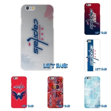 For HTC One M7 M8 A9 M9 E9 Plus Desire 630 530 626 628 816 820 Washington Capitals Hockey Logo Silicon Soft Phone Case Cover(China)