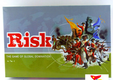 Risk For 2-6 Player Strategy Board Game Global Domination War Games Family Board Games With English Version