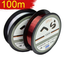 2017 Daiwa 100m Fluorocarbon Fishing Lines Strong Nylon Multifilament Fishing Line Reservoir Pond Stream Carp Fishing(China)